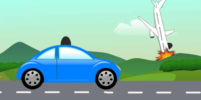 Driverless Carmakers Assure Public Only Airplanes Crash Randomly