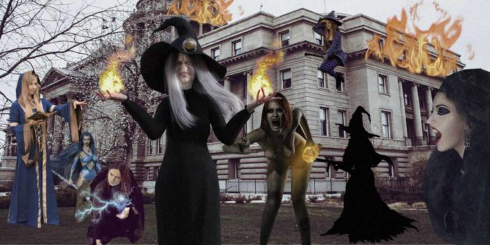 Wiccans Storm US Capitol After Being Left Out Of Anti-Bigotry Resolution