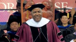 Inspiring: Robert Smith Teaches Morehouse Graduates Concept Of Speaking Metaphorically