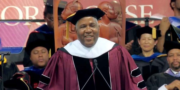 Inspiring: Robert Smith Teaches Morehouse Graduates Concept Of Speaking Metaphorically