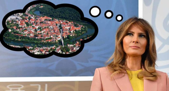 """Supportive First Lady Decides To """"Go Back To Country She Came From"""""""