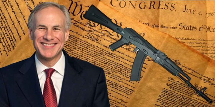 Texas Governor Relieved 2nd Amendment Unharmed During Multi-City Shooting Spree