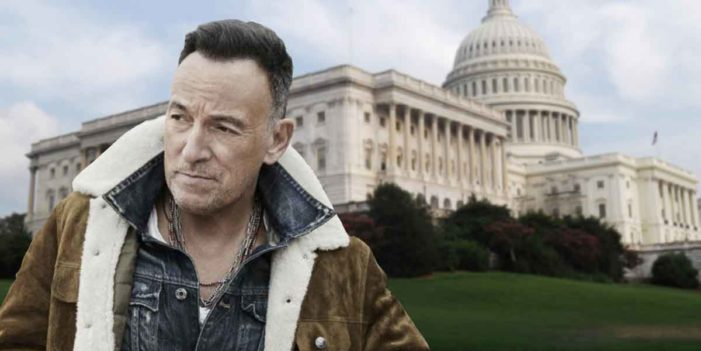 Bruce Springsteen Shuts Down US Government, Returns Land To Indians