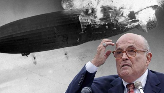 White House Recalls Special Envoy To Hindenburg Disaster