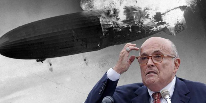 White House Recalls Special Envoy To Hindenburg Disaster