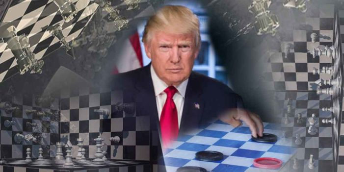 Genius Playing 4 Dimensional Chess Actually Playing Modified Checkers