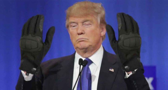 Gloves Found By Dershowitz At Scene Of Ukraine Call Too Big For President's Hands