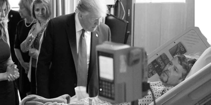 President Comforts Dying Man With Generous Tax Deduction