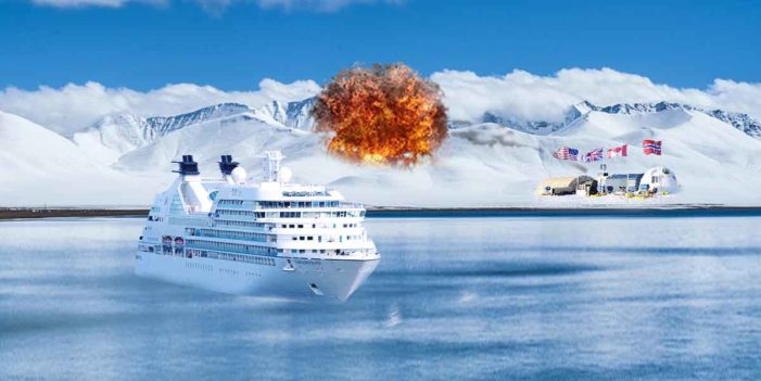 Antarctica Closes Borders, Fires Warning Shot Across Bow Of Cruise Ship