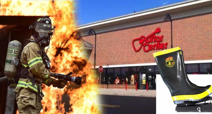 Guitar Center To Provide Essential Wah-Wah Services To First Responders