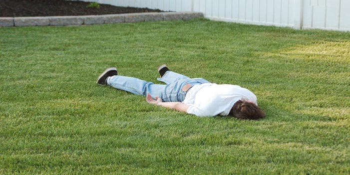 Man Plays Dead To Avoid Doing Household Chores