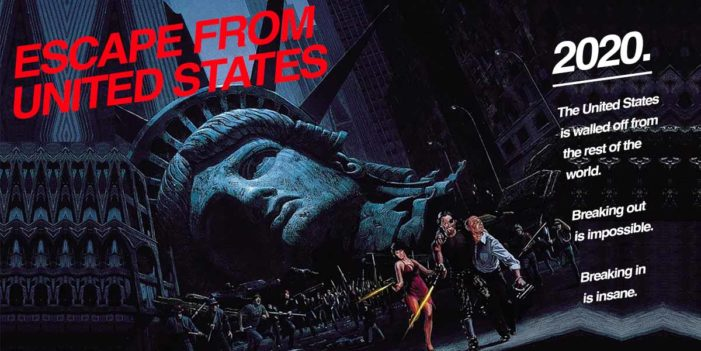 "John Carpenter Announces Gritty Reboot ""Escape From United States"""