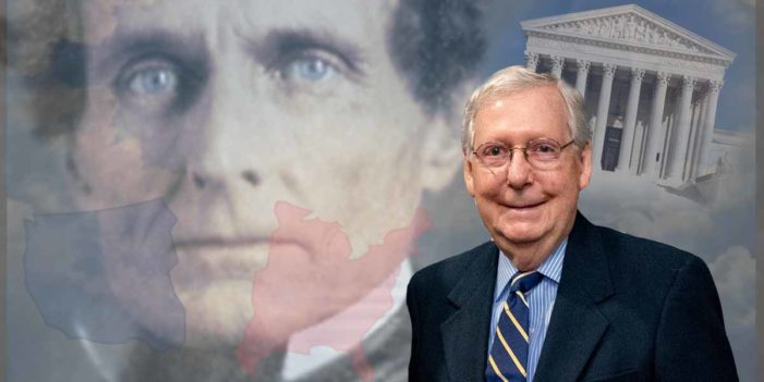 Jefferson Davis Reincarnated As Kindly Grandpa Announces New US Civil War